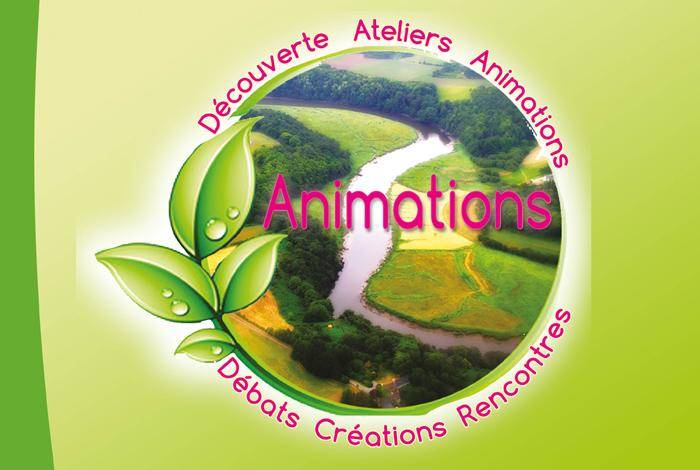 Visuel plaquette Animations Agenda 21 de Quéven