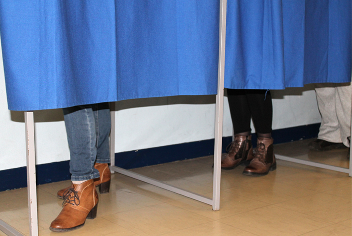 Elections isoloir