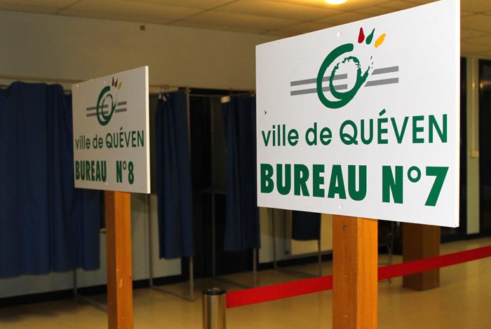 Elections panneaux directionnels bureaux de vote