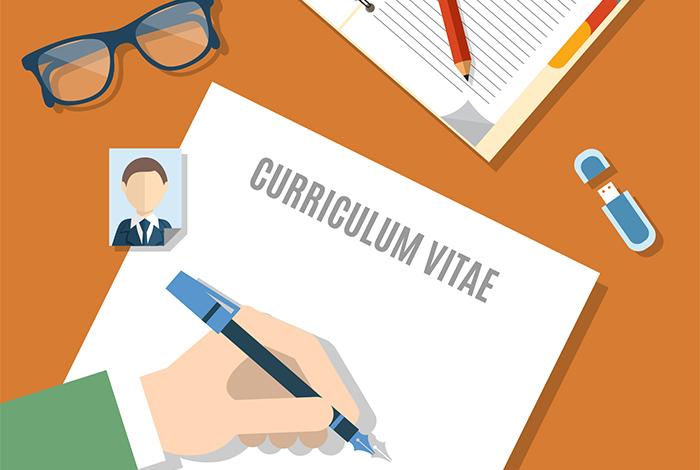 Illustration recherche d'emploi CV