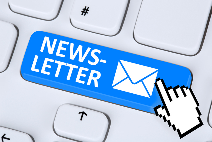 S'inscrire aux Newsletters
