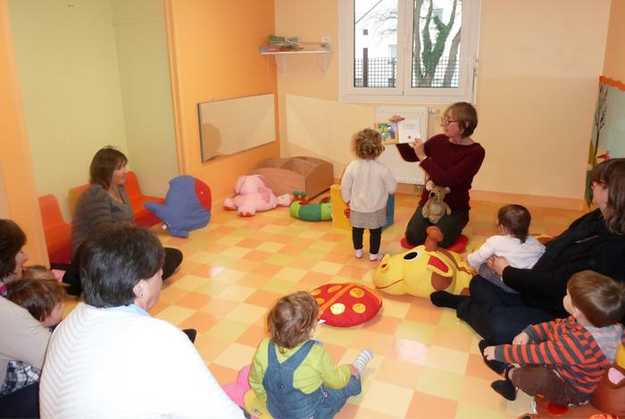 Atelier lecture animée avec une bibliothécaire de la médiathèque