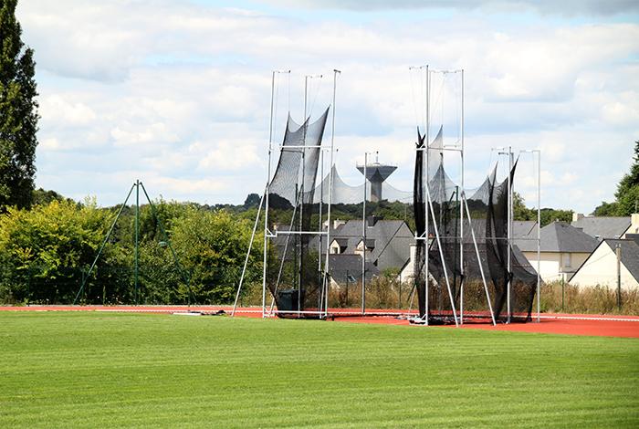 Complexe sportif de Kerlébert - aire de lancer