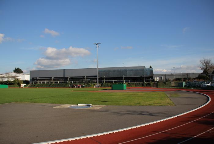 Complexe sportif de Kerlébert - piste d athlétisme