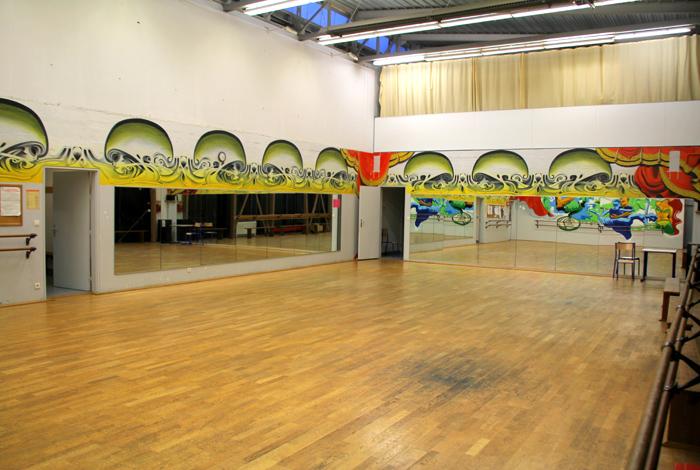 Complexe sportif de Kerlébert - salle de danse