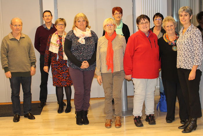 Les membres du Conseil d'Administration du CCAS de Quéven