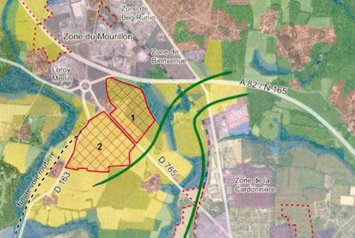 Projet de creation de la ZAC la Croix du Mourillon – Kroez ar Morion