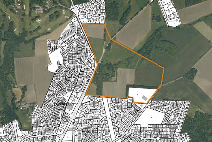 Vue aérienne quartier de Croizamus