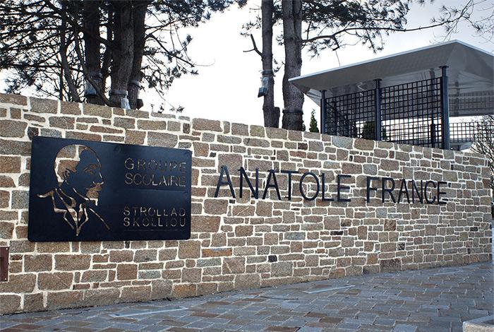 Entrée école Anatole France