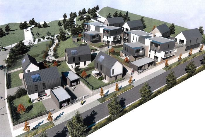 Projet Logements Armorique Habitat îlot B (A3 Architectes Associés)