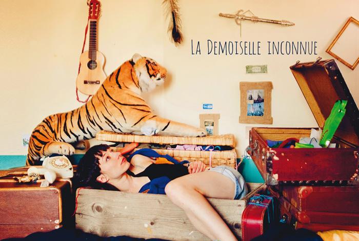 Pochette CD - LA DEMOISELLE INCONNUE