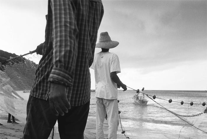 Exposition «Sous le vent, pêcheurs à la Martinique», photographies de Sylvain Demange