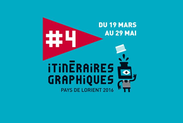 Exposition «Itinéraires graphiques du Pays de Lorient 2016»