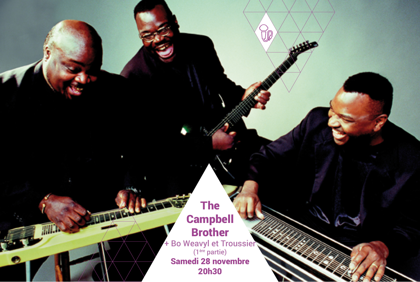 THE CAMPBELL BROTHERS // BO WEAVIL + TROUSSIER (1ère partie)