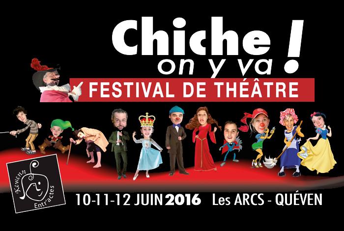 Festival de théâtre «Chiche on y va !»