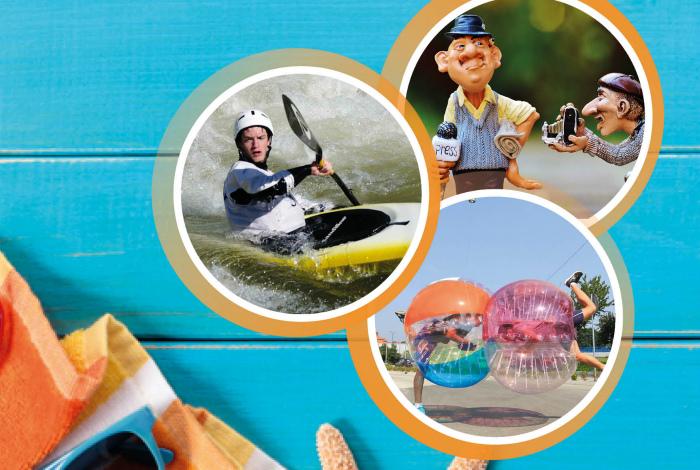 Programme d'animations pour les 12/17: vacances d'été