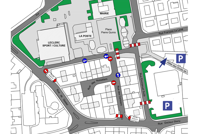 Aménagement circulation boulevard Svob