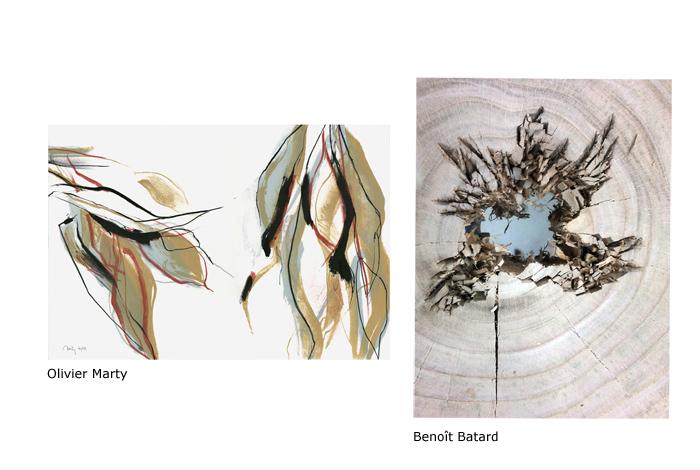 Végétal / minéral : Benoît Batard / Artothèque d'Hennebont