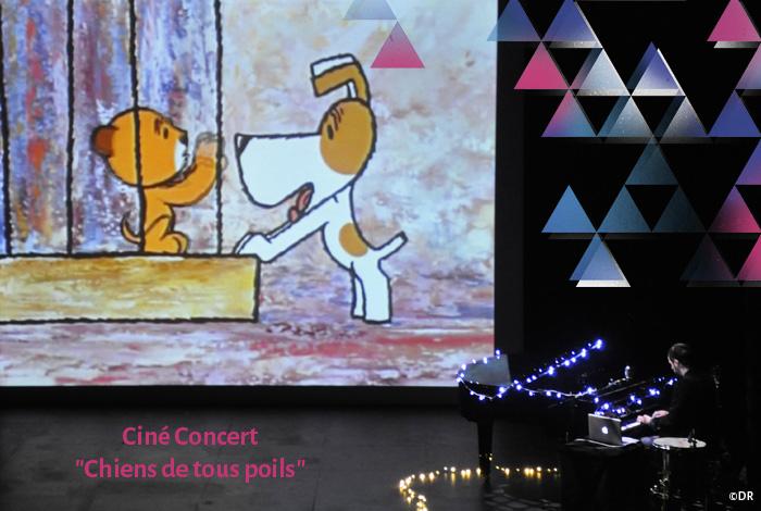 Ciné Concert // «CHIENS DE TOUS POILS» de et avec JOSEPH D'ANVERS
