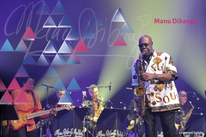 Afro Funk Jazz // MANU DIBANGO + NICOLAS SÉGUY (1ère partie)