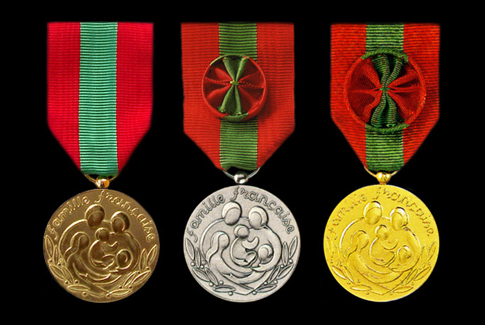 Médaille de la famille française 2019