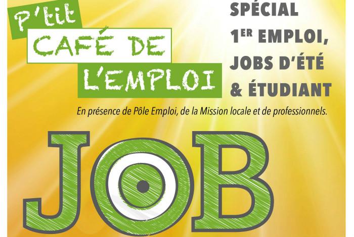 P'tit Café de l'Emploi: spécial 1er job et jobs d'été