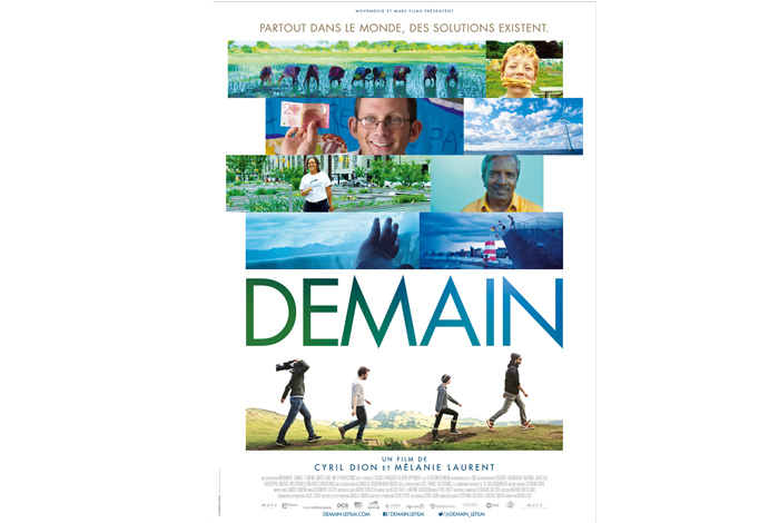 Projection « Demain », film documentaire de Cyril Dion et Mélanie Laurent