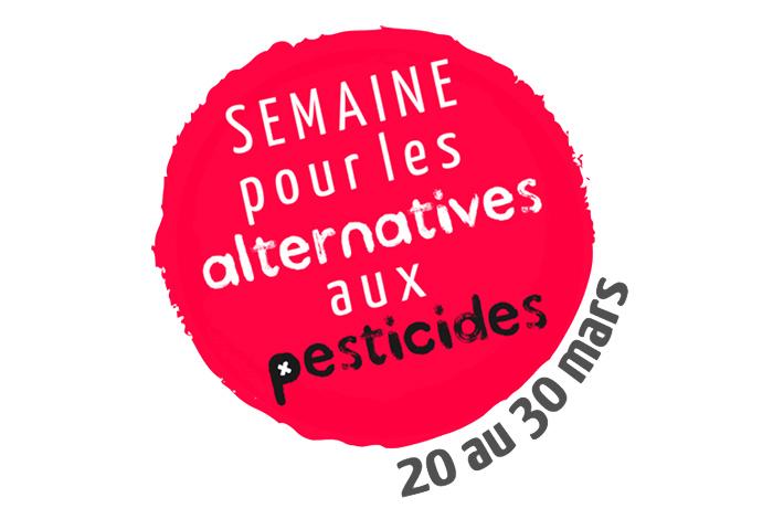 visuel semaine pour les alternatives aux pesticides