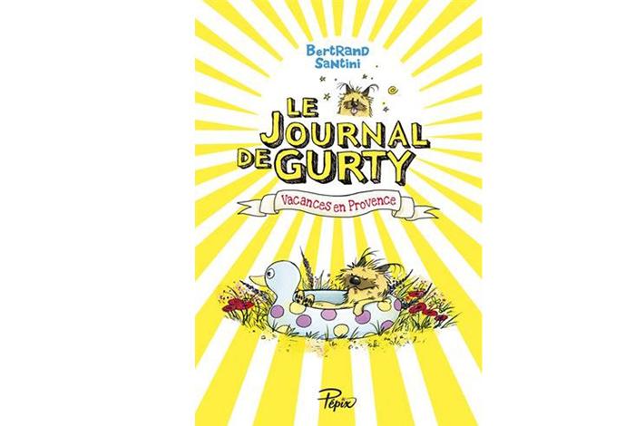 Le journal de Gurty : vacances en Provence, un roman jeunesse de Bertrand Santini
