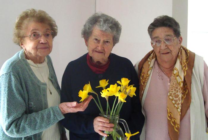 Des fleurs pour les grand-mères de Kerlaran