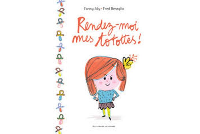 Rendez-moi mes totottes ! , un album jeunesse de Fanny Joly