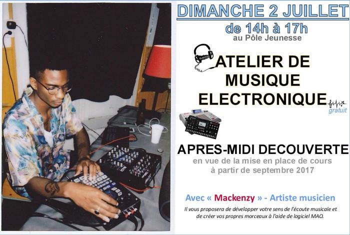 Après-midi «découverte» de la musique électronique