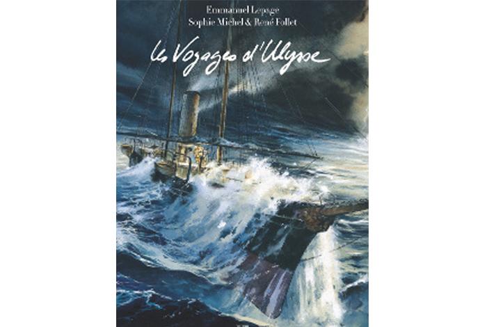 Les voyages d'Ulysse, une bd d'Emmanuel Lepage