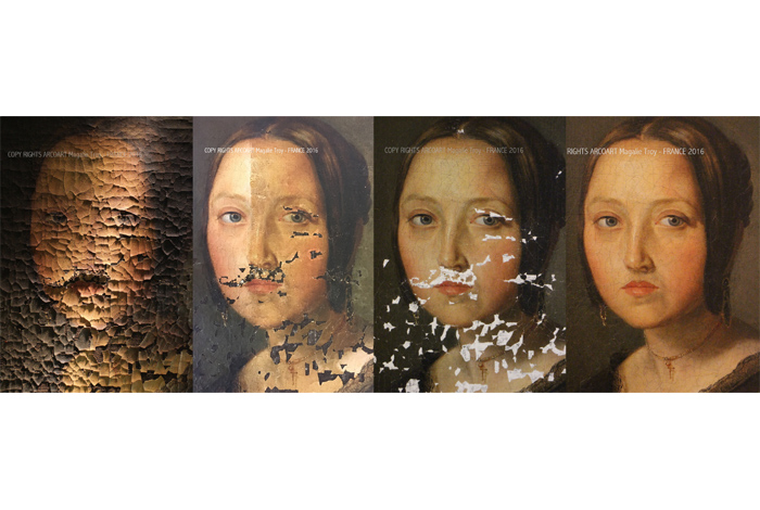Conférence  : découvrir les secrets de la restauration d'un tableau par Magali Troy