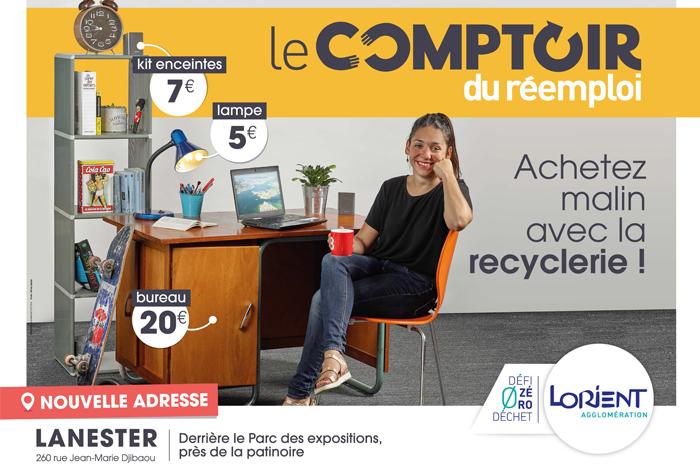 La recyclerie communautaire fait sa rentrée à Lanester !