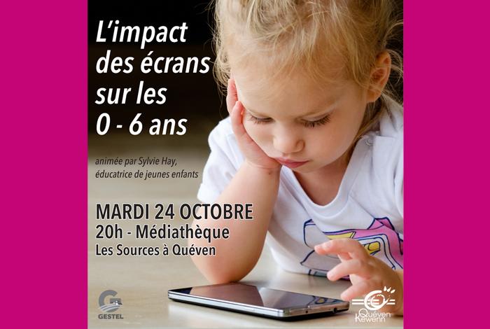 Tisane gourmande : «L'impact des écrans sur les 0-6 ans» par Sylvie Hay