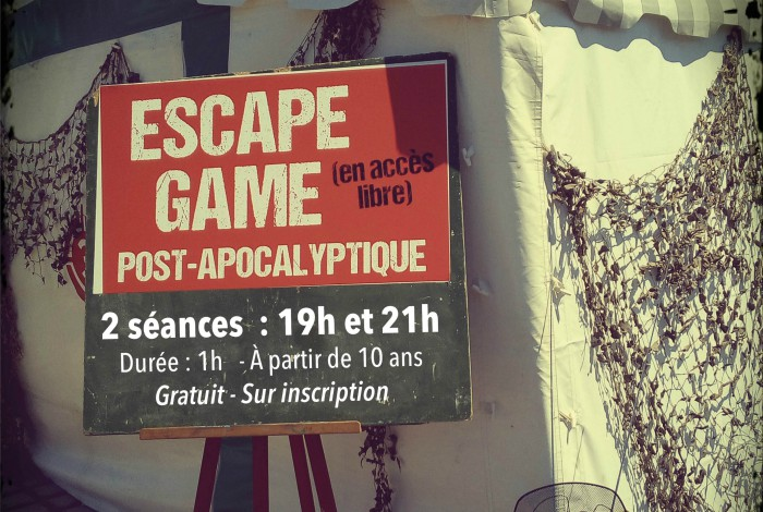 Escape Game Post-Apocalyptique : jeu d'évasion grandeur nature