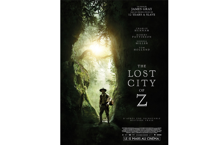 The lost city of Z, un film de James Gray