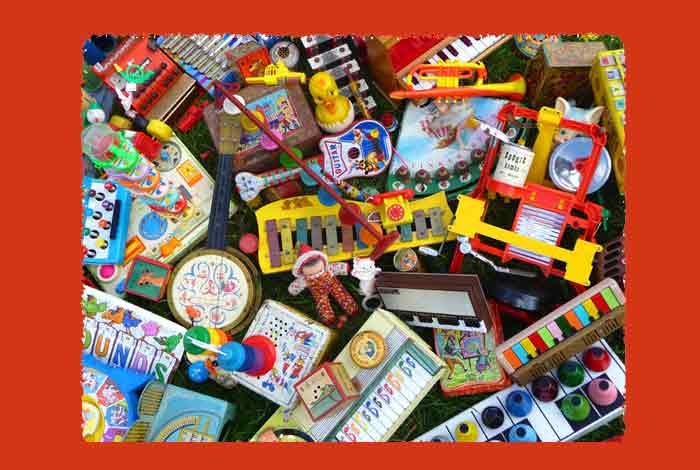 Exposition «Mille et un jouets musicaux anciens