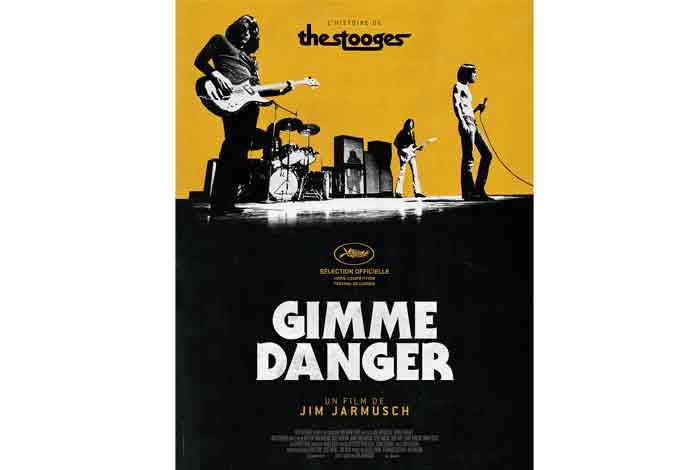 Gimme danger, un documentaire musical de Jim Jarmush