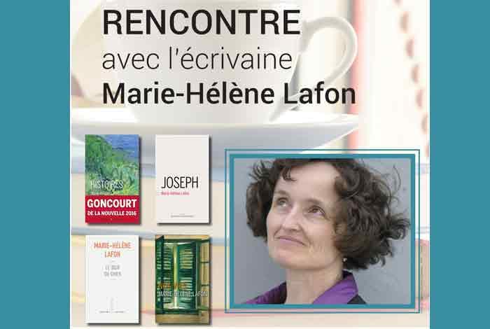 Le café des livres : rencontre avec Marie-Hélène Lafon