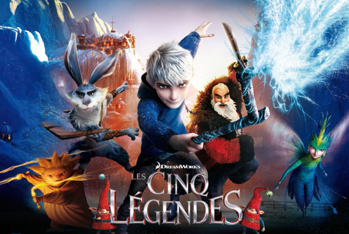 Projection «Les Cinq légendes»