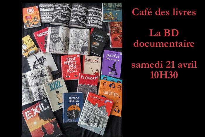 Café des livres «La BD documentaire»
