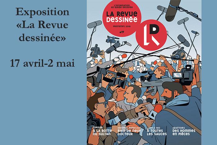 Exposition «La revue dessinée»