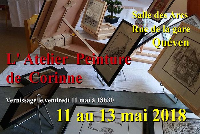 Exposition de l'Atelier Peinture de Corinne