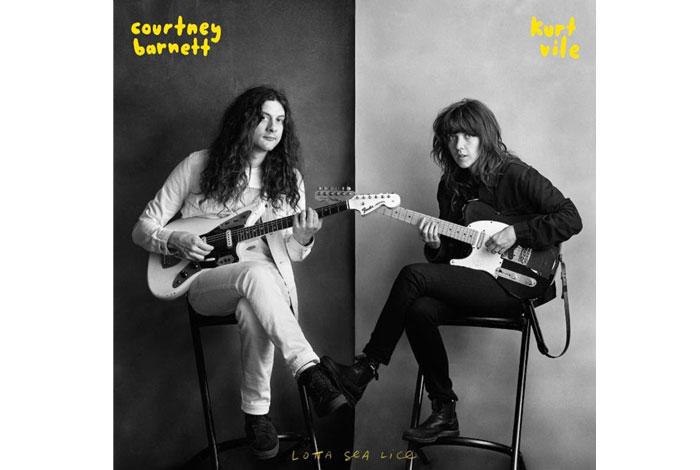 Lotta Sea Lice, un cd de Courtney Barnett & Kurt Vile