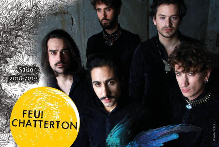 FEU! CHATTERTON + TERRENOIRE (1re partie) // Rock Électro