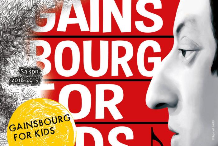 GAINSBOURG FOR KIDS // Chanson Jeune Public