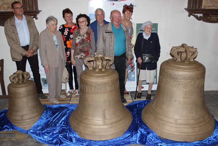 Les cloches restaurées sont de retour