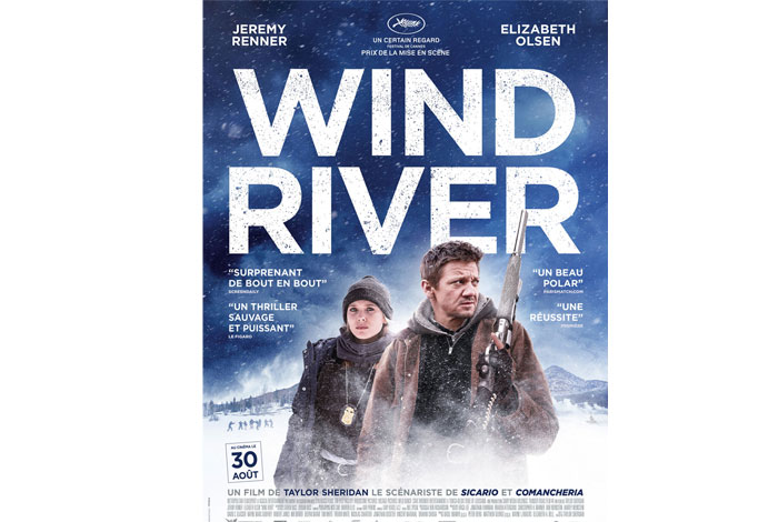 jaquette du dvd wind river